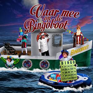 Sint en Piet Vaar mee op de bingoboot